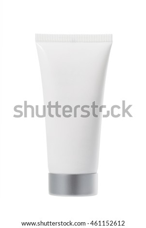 Tube of cream for cosmetic skin care
