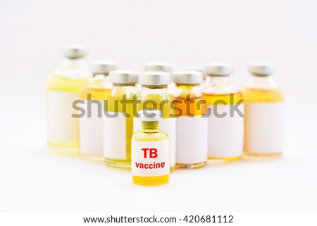 Tuberculosis (TB) vaccine for injection