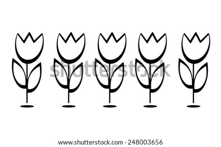 Tulips - stock photo
