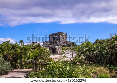 Tulum -  Cancun, Mexico - stock photo