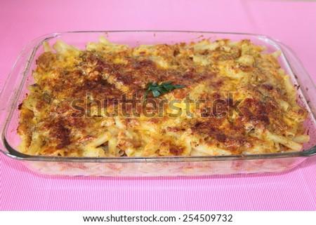 Tuna dish. - stock photo