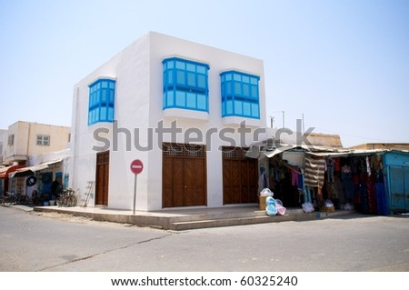 Tunisian house - stock photo