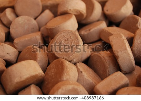 Turbah or mohr, is a small piece of soil or clay, often a clay tablet, used during salat (Islamic daily prayers) to symbolize earth.
