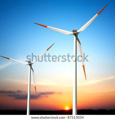 Turbine - stock photo