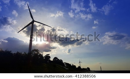 Turbines and clouds