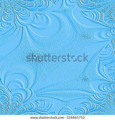 Turbulent Colored Dust Background
