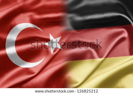 Turkey and Germany - stock photo