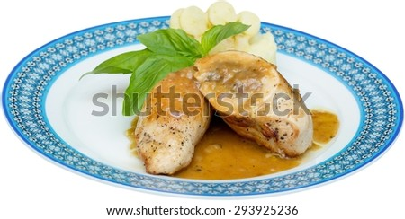Turkey, Thanksgiving, Dinner. - stock photo