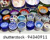 Turkish Ceramics - stock photo