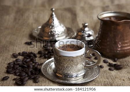 Turkish Coffe Concept Photo - stock photo