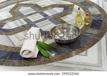 Turkish Hamam; Baths - stock photo