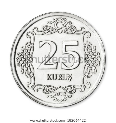 Turkish 25 Kurus / Yirmibes Kurus