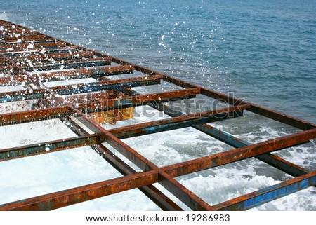 Turkish sea - stock photo