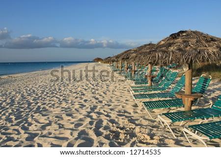 Turks and Caicos beach - stock photo