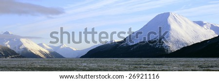 Turnagain Arm with Pyramid Mountain