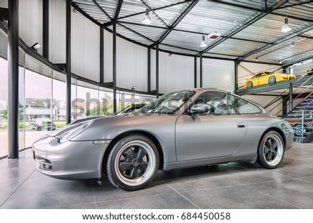 TURNHOUTJULY 24 2017 Porsche 911 Occasion Stock Photo (Royalty Free on leonid shebarshin, porsche family, harry crews, susanne porsche, erwin komenda, alex porsche, ferdinand oliver porsche, who invented the porsche, ferdinand porsche, ferdinand anton ernst porsche, dzhokhar tsarnaev porsche,