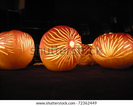 Turnip Lanterns at Richterswil's Turnip festival