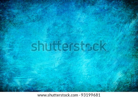 turquoise abstract grunge texture background for multiple uses