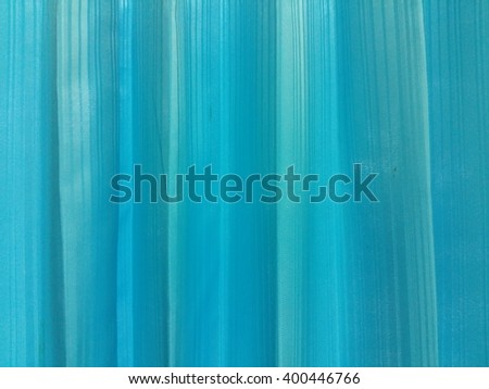 Blue Curtain Fabric Texture Stock Photo 437543257