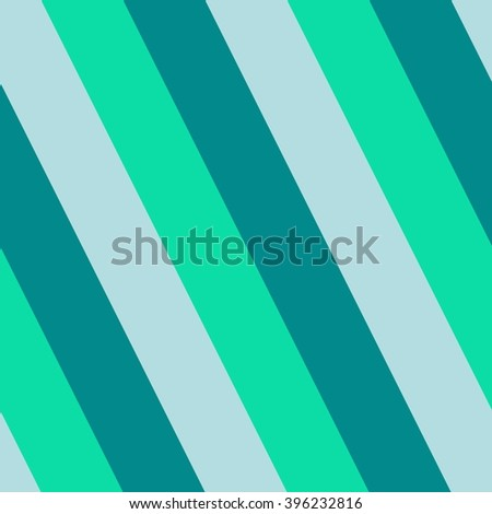 Turquoise green gray oblique striped seamless print able pattern - stock photo