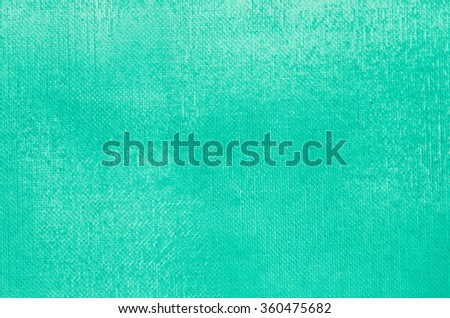 turquoise painted art background texture - stock photo