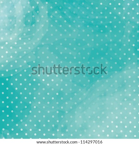 Turquoise polka dot background with a beautiful blue Purple polka dot background with beautiful blur - stock photo
