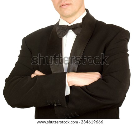 Tuxedo - stock photo