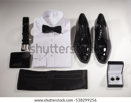 Tuxedo shirt stock images royalty free images vectors for Tuxedo shirt black buttons