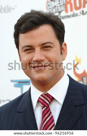 """TV chat show host JIMMY KIMMEL at """"Comedy Central's Roast of Pamela Anderson"""" at Sony Studios, Culver City. August 7, 2005 Culver City, CA  2005 Paul Smith / Featureflash - stock photo"""