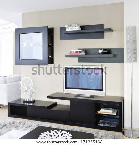 TV furniture - stock photo
