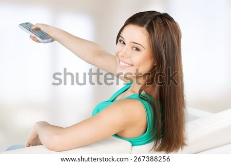 Tv, lcd, changing. - stock photo