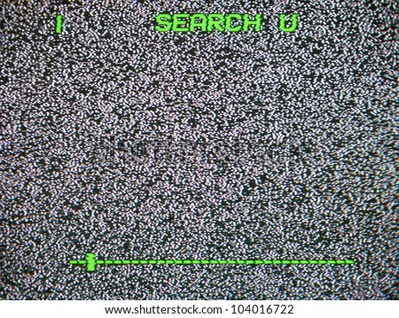 TV noise background - stock photo