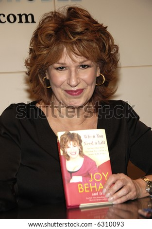 TV Personality Joy Behar - stock photo