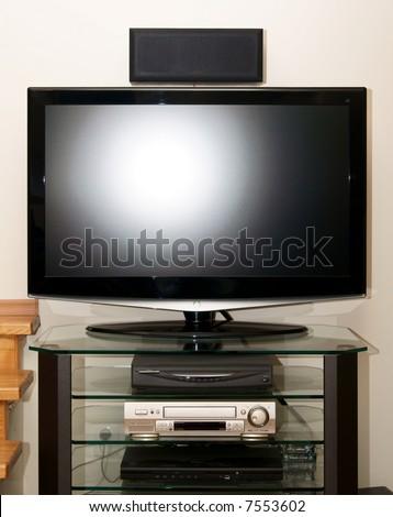 tv set - stock photo