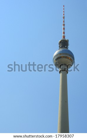 TV tower of Berlin - stock photo