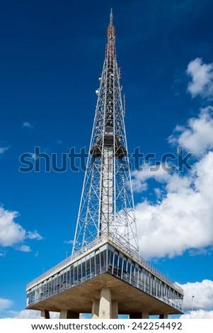 TV-Tower of Brasilia/ Brasil - stock photo