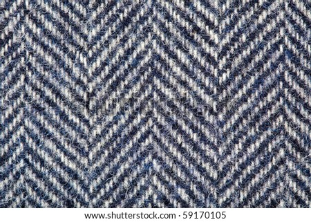 Tweed, Wool Background Texture - stock photo