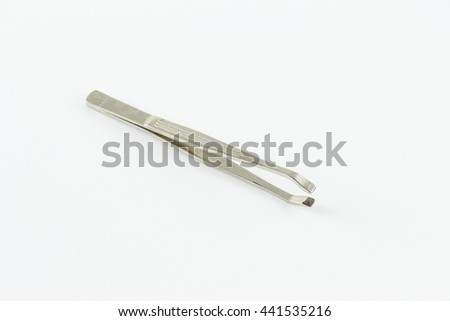 Tweezers for eyebrows