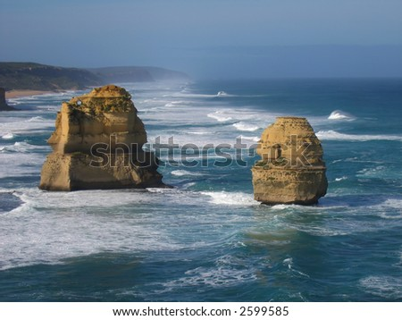 Twelve apostles (Australia,  Great Ocean Road)