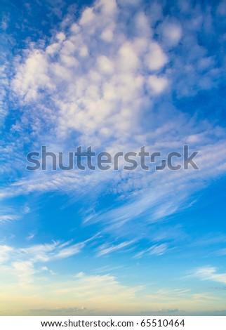 Twilight Evening Beauty - stock photo