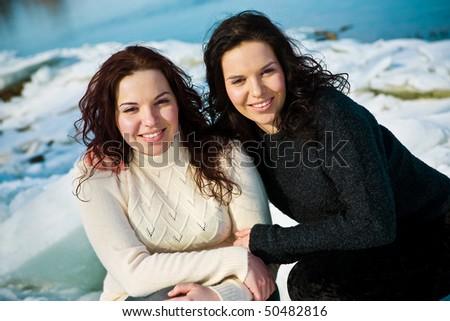 Twins - stock photo