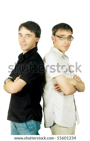 twins (close-up) - stock photo