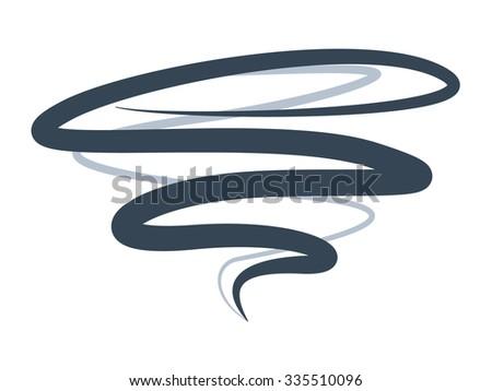twister symbol  sign of tornado spiral  jpg version - stock photo