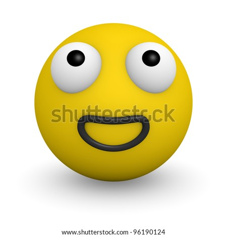 Two anxious face - stock photo