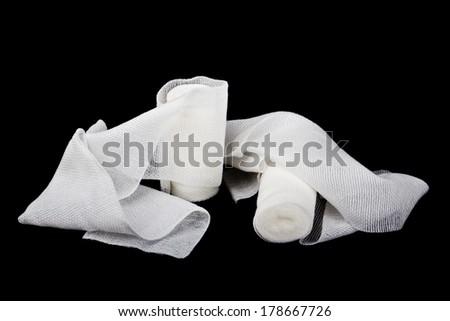 Two bandages - stock photo