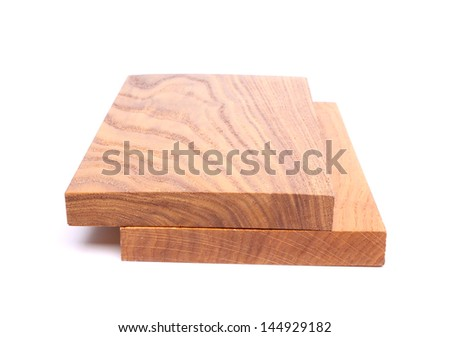 Two boards (acacia, oak)