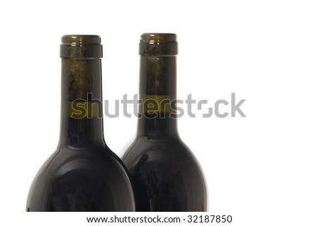 two bottle - stock photo