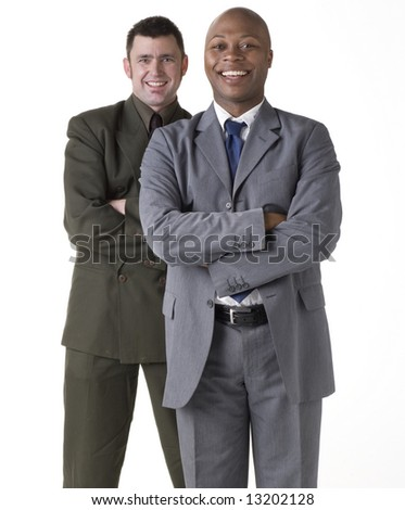 Two Confident Businessmen