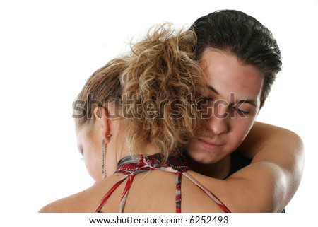 two couple togetherness heterosexual love man woman - stock photo