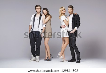 Two couples